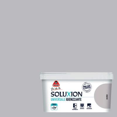 Idropittura  igienizzante antimuffa Soluxion greige 2,5 L Boero