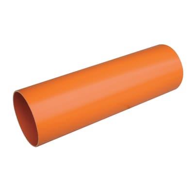 Tubo arancio ø 125 mm x 2 m