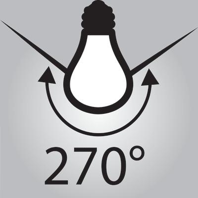 Lampadina led lexman e27 100w globo luce fredda 150 for Lampadine lexman