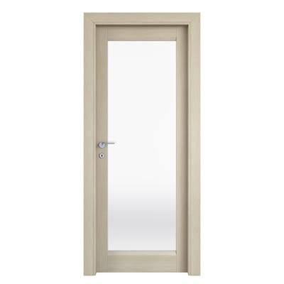 Porta da interno battente Shaula paglia 70 x H 210 cm dx