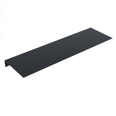 Mensola nero L 60 x P 18, sp 4 cm