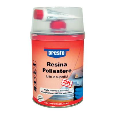 Resina poliestere presto 1 kg prezzi e offerte online leroy merlin - Resina epossidica leroy merlin ...