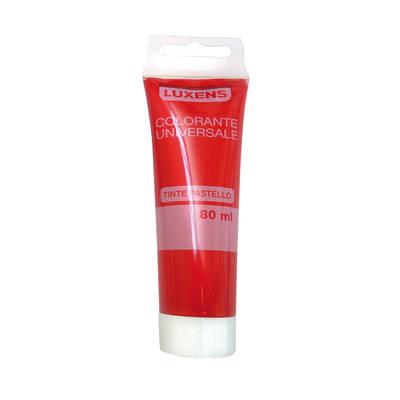Colorante universale Luxens rosso vivo 80 ml