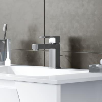 Mobile bagno Soft bianco L 80,5 cm