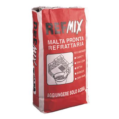 Malta refrattaria Refmix grigio 5 Kg