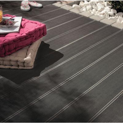 Listone kyoto 14 5 x 220 cm x 21 mm grigio prezzi e for Pavimenti da esterno leroy merlin