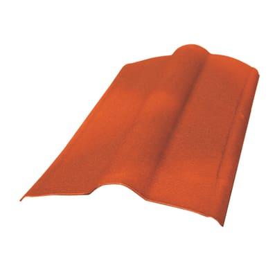 Colmo Onduline in fibrobitume color rosso, L 90 cm