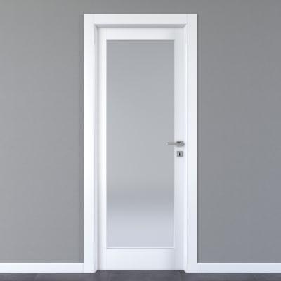 Porta da interno battente Avior bianco 60 x H 210 cm sx