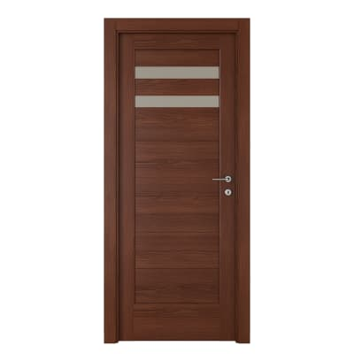 Porta da interno battente Malawi 2 70 x H 210 cm sx