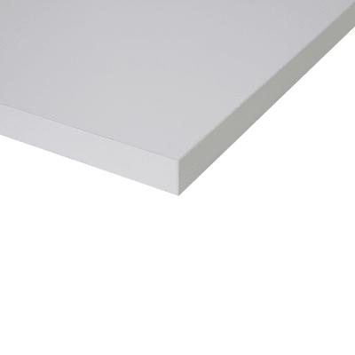 Piano cucina su misura laminato luna bianco 2 cm prezzi e offerte online leroy merlin - Piano cucina laminato ...
