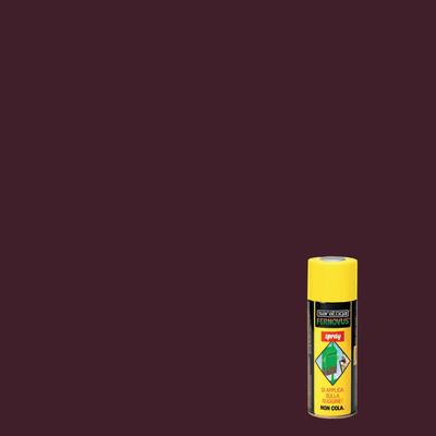 Smalto per ferro antiruggine spray Saratoga Fernovus marrone brillante 0,4 L