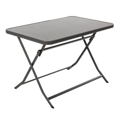 Tavolo pieghevole Denver, 110 x 70 cm grigio antracite