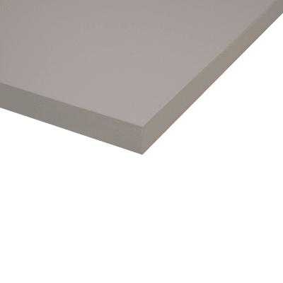 Piano cucina su misura laminato Alpaca grigio 6 cm