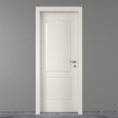 Porta da interno battente Ipanema bianco 70 x H 210 cm sx