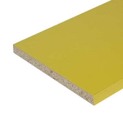 Pannello melaminico giallo 25 x 600 x 2500 mm