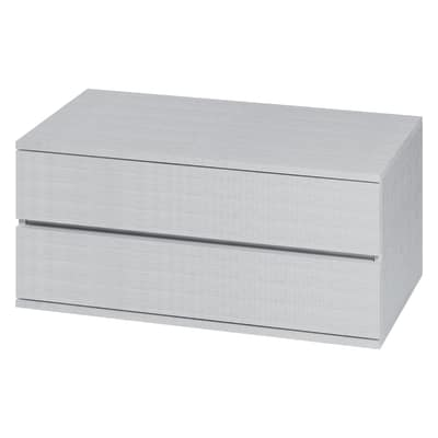Cassettiera Logo bianco L 90 x P 50 x H 42,8 cm