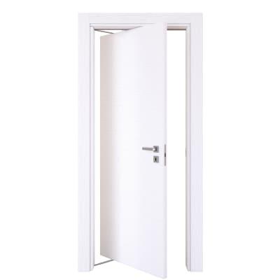 Porta da interno rototraslante Plaza frassino bianco 70 x H 210 cm sx