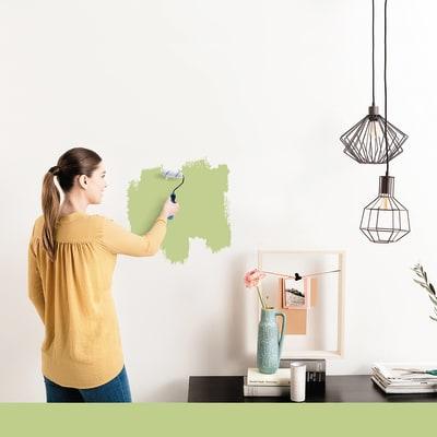 Tester idropittura murale Mano unica Verde Pistacchio 5 Luxens