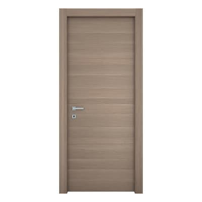Porta da interno battente Sheraton rovere naturale 70 x H 210 cm reversibile