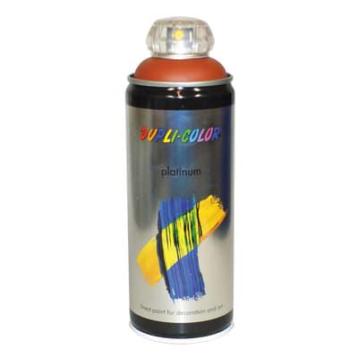 Smalto spray Platinum marrone terracotta satinato 400 ml
