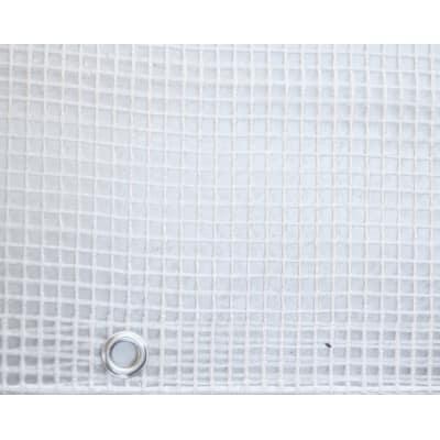 Telo protettivo occhiellato 3 x 3 m 150 g/m²