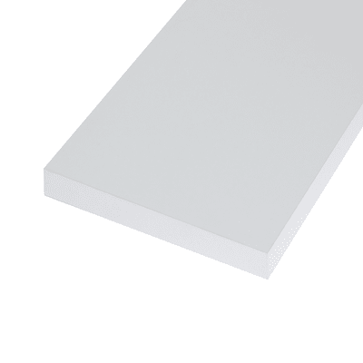 Pannello melaminico bianco 25 x 300 x 1000 mm