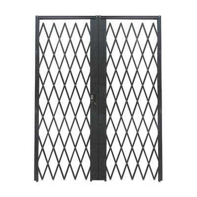 Cancelletto blindato DibiBlind grigio scuro L 120 x H 220 cm