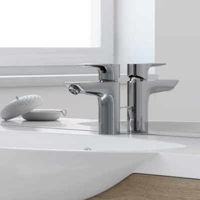 Mobile bagno Elise rovere L 80 cm