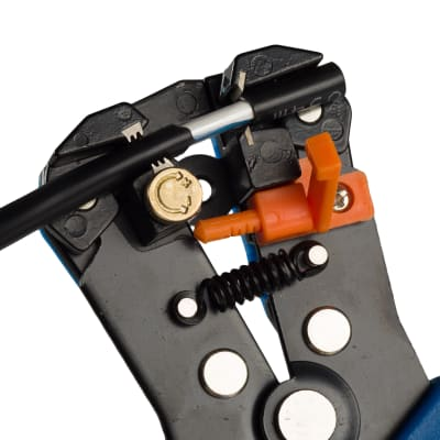 Pinza automatica spelafili Dexter acciaio 200 mm