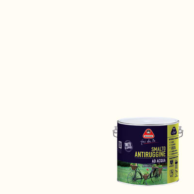 Smalto per ferro antiruggine Boero bianco satinato 2 L