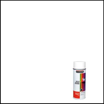 Smalto spray Deco Luxens bianco RAL 9010 brillante 400 ml