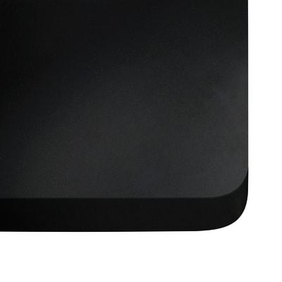 Piano cucina su misura quarzo Nero tebas 3 cm