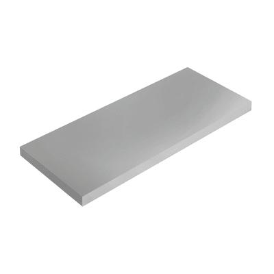 Mensola Spaceo grigio L 36 x P 15,5, sp 1,8 cm