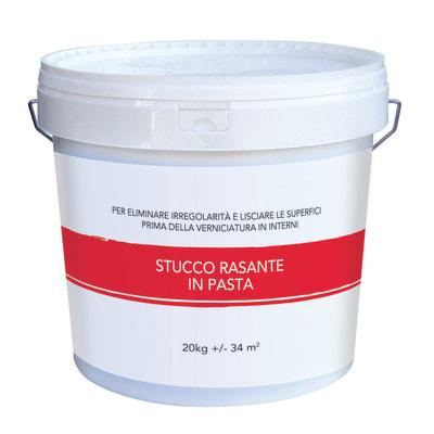Stucco in pasta Rasante liscio bianco 20 kg