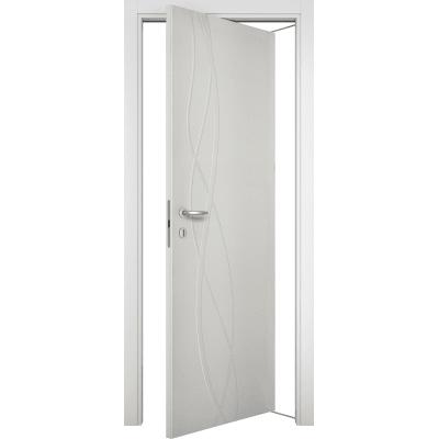 Porta da interno rototraslante Dna Laccato Bianco 80 x H 210 cm sx