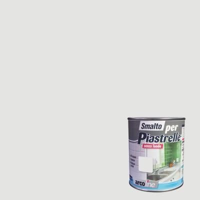 Smalto  per piastrelle Arcoline 605 grigio perla brillante 0,5 L