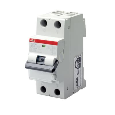 Interruttore magnetotermico differenziale ABB ELDS1LC32AC30 1P + N 32 A