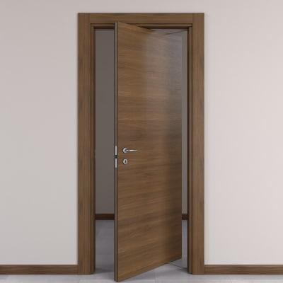 Porta da interno rototraslante Stenophylla Cacao 80 x H 210 cm dx
