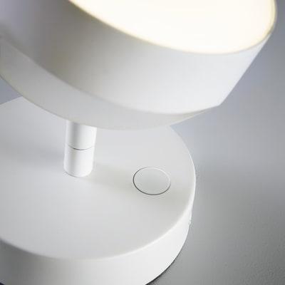 Faretto singolo Inspire Jino bianco LED integrato