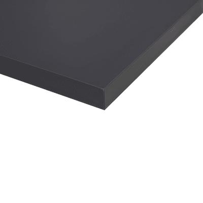 Piano cucina su misura laminato Antra grigio 2 cm