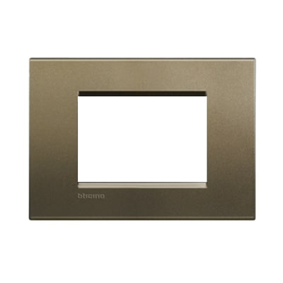 Placca 3 moduli BTicino Livinglight square
