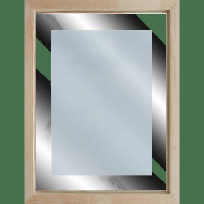 Quadro in vetro con cornice Terrazza 45,5x55,5