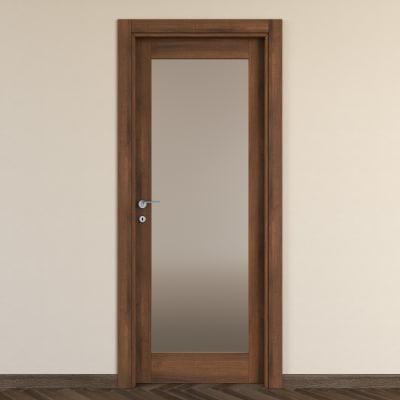 Porta da interno battente Vei noce 80 x H 210 cm dx