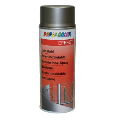 Spray effetto acciaio inox argento 400 ml