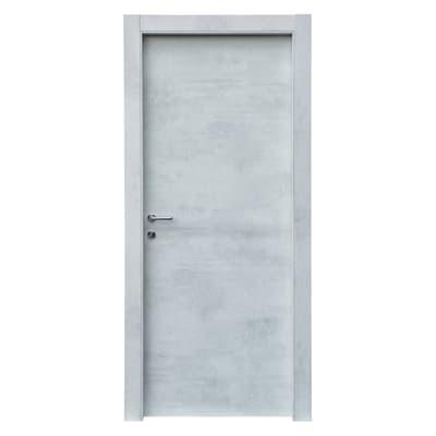 Porta da interno battente Cemento 70 x H 210 cm reversibile