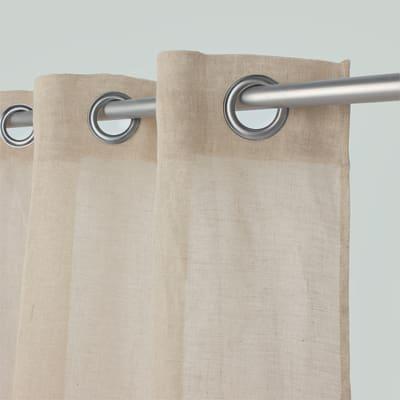 Tenda Voile de lin beige 150 x 280 cm