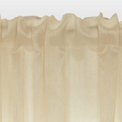 Tenda Chevron oro 140 x 290 cm