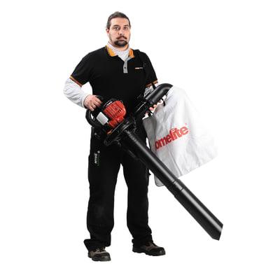 soffiatore aspiratore trituratore a scoppio homelite