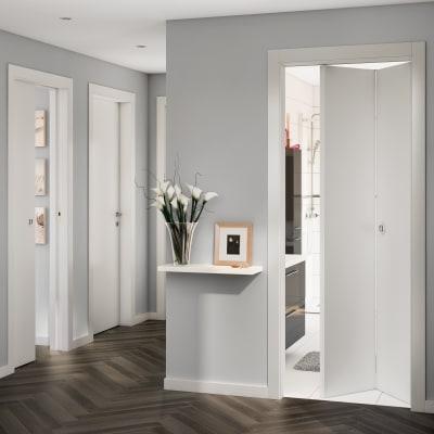 Porta da interno battente Strauss 60 x H 200 cm reversibile