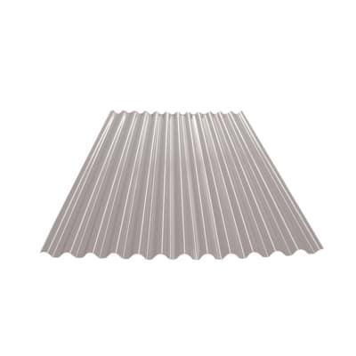 Lastra Ecolina grigio in polimglass 110 x 200  cm, spessore 1,8 mm